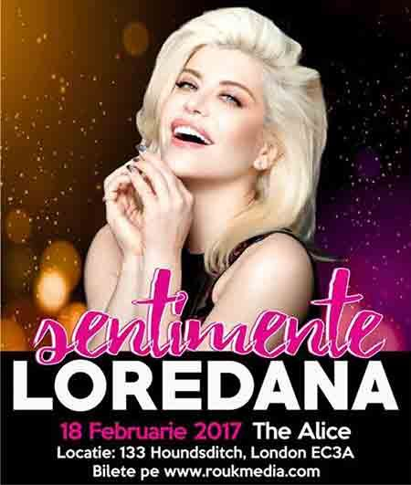 Concert Loredana Groza at The Alice Bar