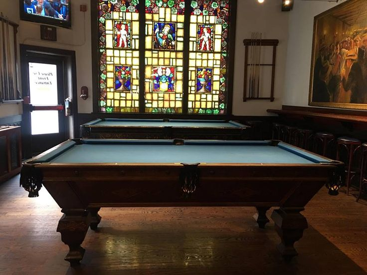 The elevator columbus ohio pool tables billiard rooms for Table 6 kemble inn