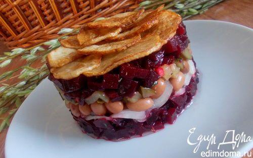 Винегрет праздничный   Кулинарные рецепты от «Едим дома!»
