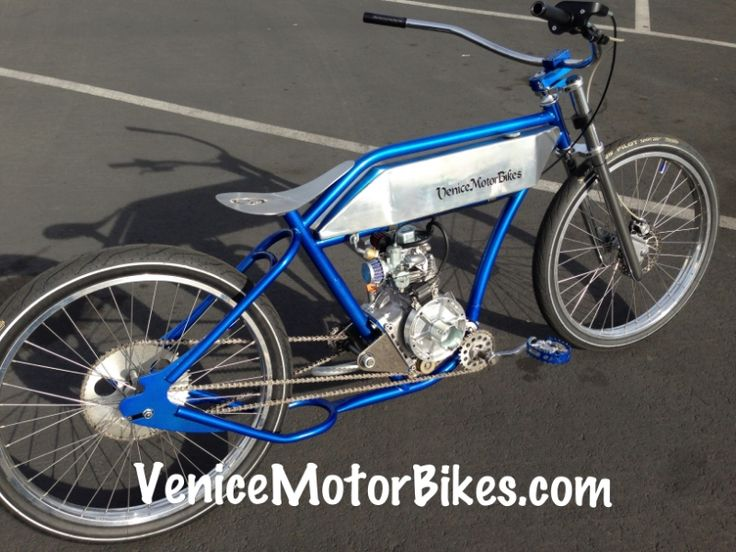 Motorized Bicycle, 212cc Ruff Cycles, Bobber, Chopper, Vintage motorcycle replica