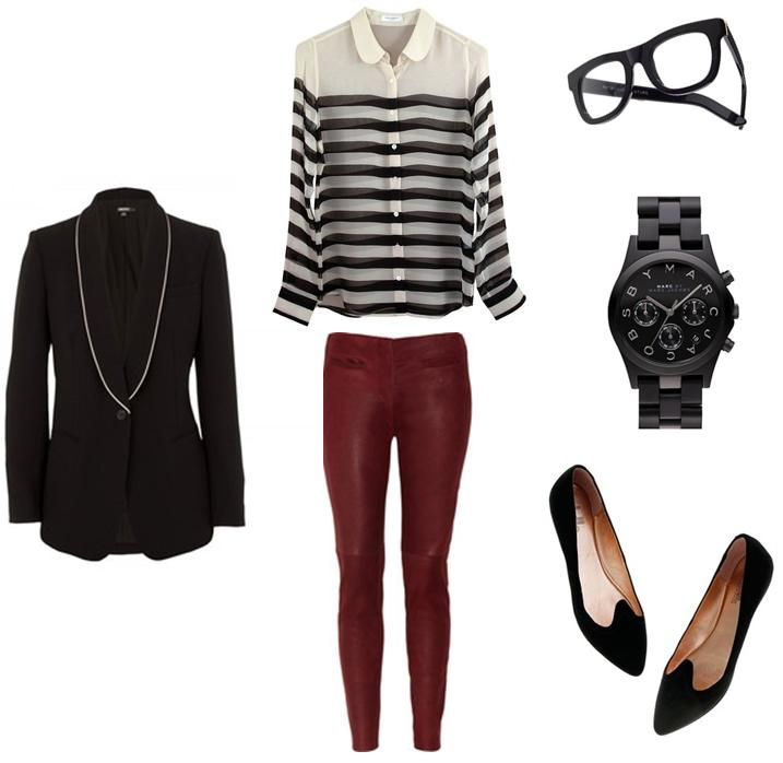 interview outfit - or just loose the jacket and its an anytime outfit