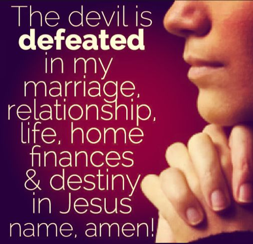 How the devil destroys marriages