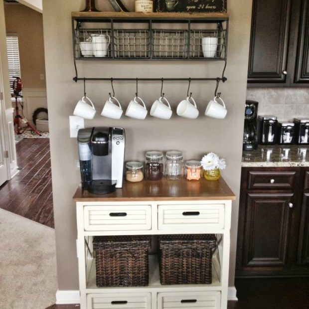Home Coffee Bar Design Ideas: 25+ Best Ideas About Home Coffee Bars On Pinterest