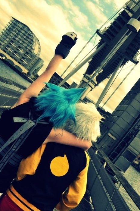 Black Star Cosplay from Soul Eater Cosplay, Black star