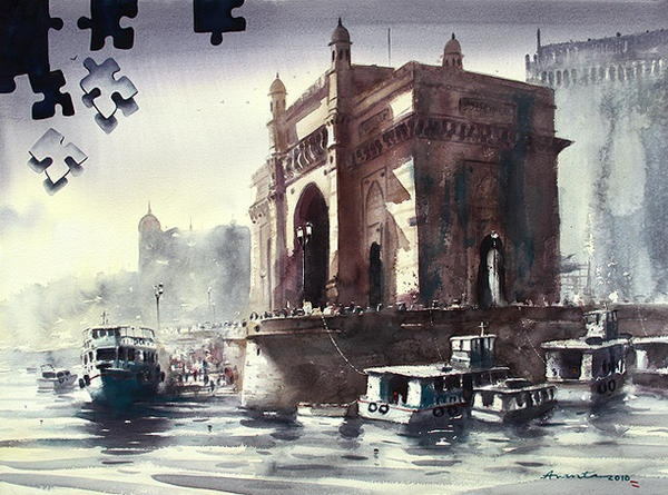 Gateway of India by Ananta Mandal