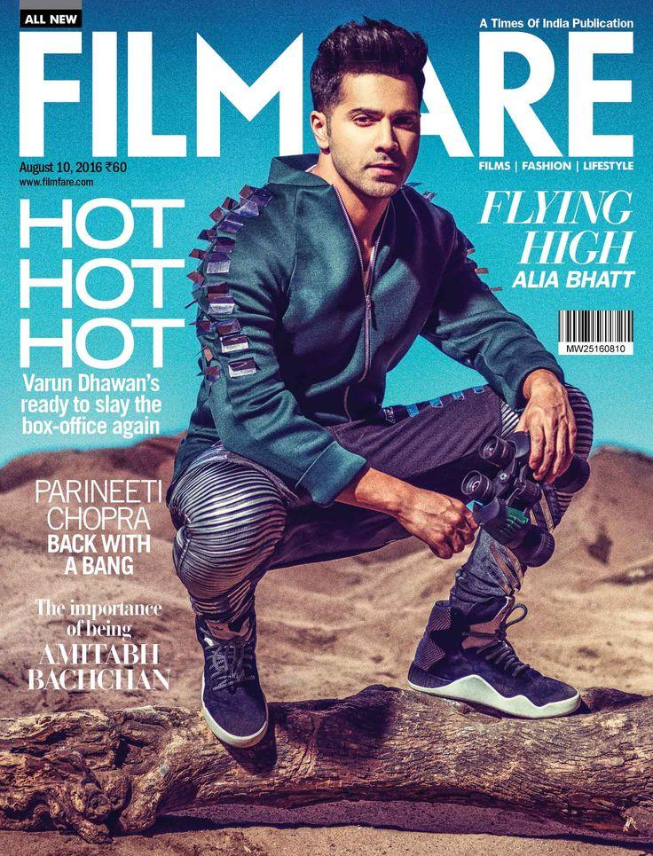 Varun Dhawan #FilmFare #MagazineCover #Photoshoot #Bollywood #Fashion #Style #VarunDhawan