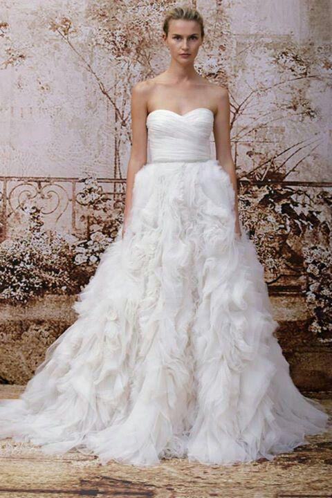 Monique Lhuillier Bridal Fall 2014