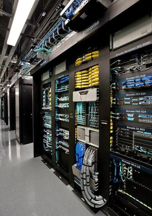 Inside a Google data center. A closer look at their data center design.