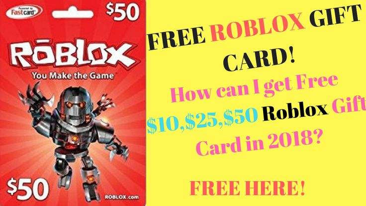 Free roblox gift card codes how to get free robux gift