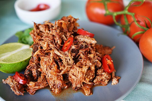 Mexican Pulled Beef - Weber