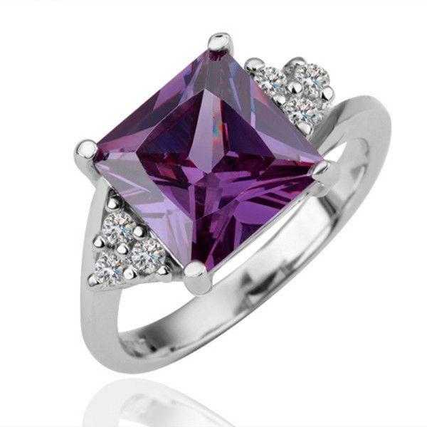 17 best ideas about Purple Diamond Rings on Pinterest Purple