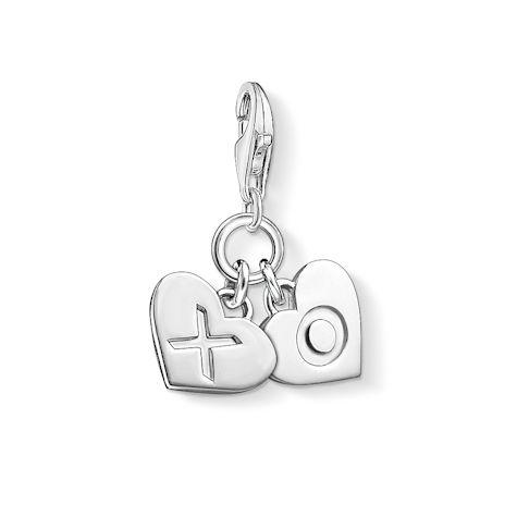 Thomas Sabo riipus - XOXO sydämet 1314-001-12 - Thomas Sabo Charm Club -riipukset - 1314-001-12 - 1