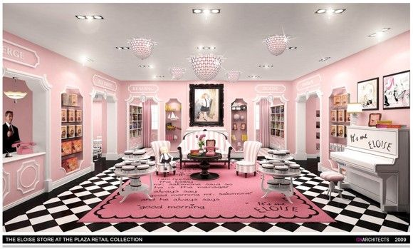 Eloise Store at the Plaza Hotel.....next NY trip with the girls....they would LOVE this! @Mary Abdalla