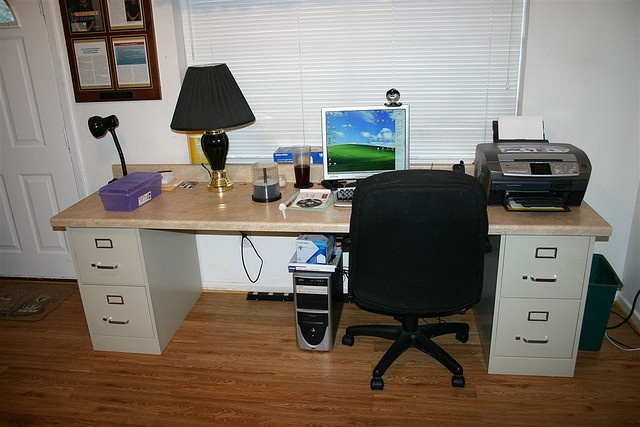 Pinterest - Computer desk for two people ...