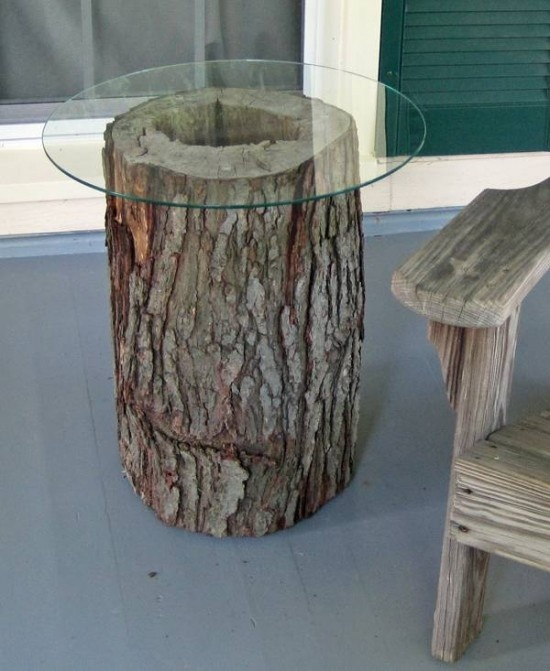 Tree Trunk Coffee Table For The Home Pinterest