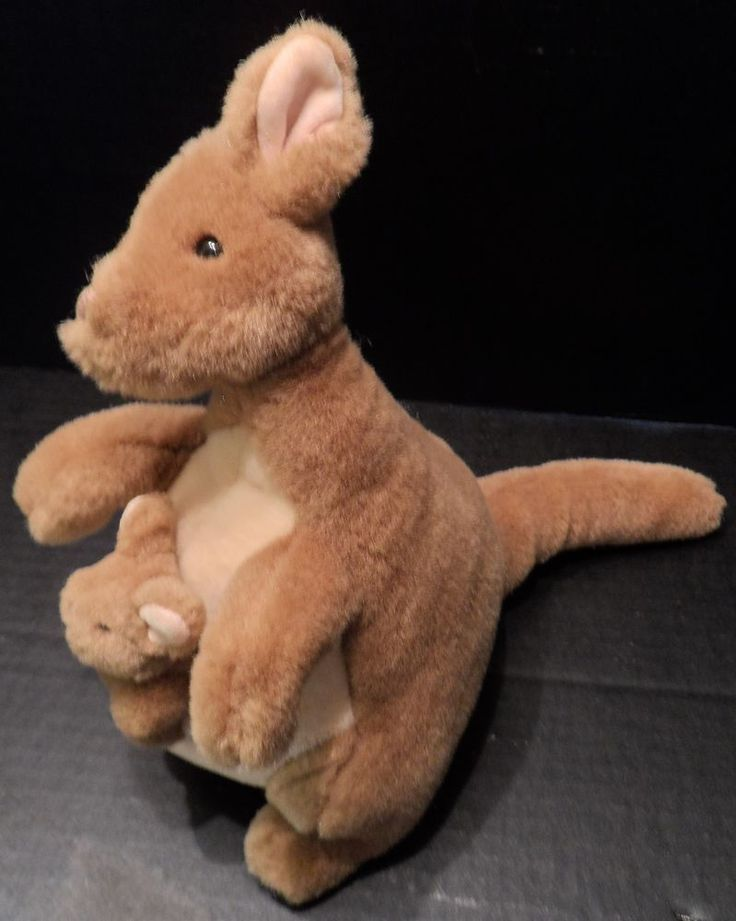 $19.95/ #Gund Classic Winnie The Pooh #Plush Mama #Kanga Baby Roo ...