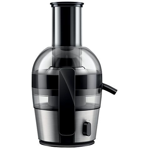 Buy Philips HR1863/01 Viva Collection Juicer, Aluminium Online at johnlewis.com