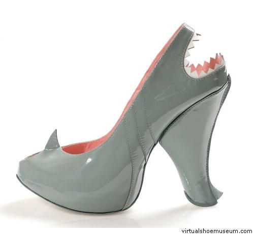 "Shark by Kobi Levi. I wonder if they play the theme song from ""Jaws"" when you walk in them!"