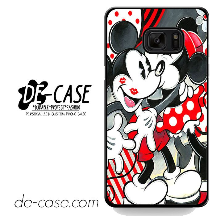 Mickey Mouse Kissing By Minnie Mouse Disney DEAL-7208 Samsung Phonecase Cover For Samsung Galaxy Note 7