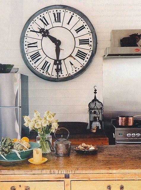 Die besten 25+ Wanduhr landhaus Ideen auf Pinterest Wanduhren - sch ne wanduhren wohnzimmerideen fur gartengestaltung