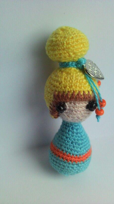 Miniature Debz doll
