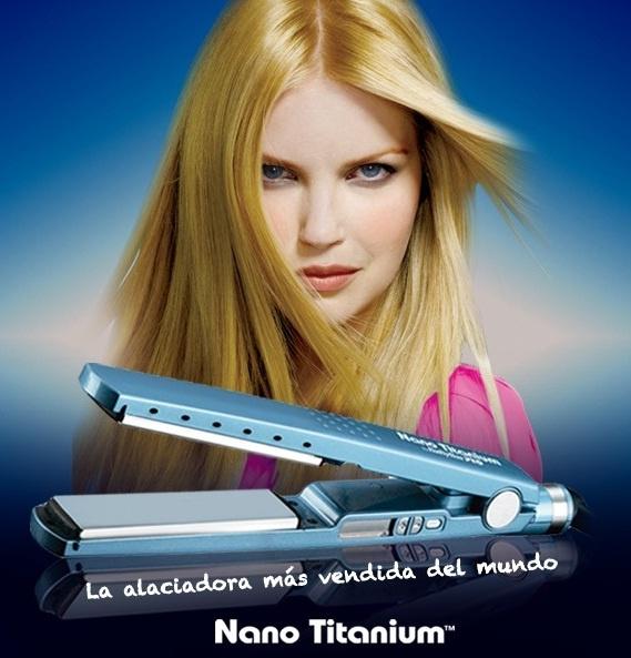 Planchas para cabello Babyliss Nano Titanium en Belleza Home