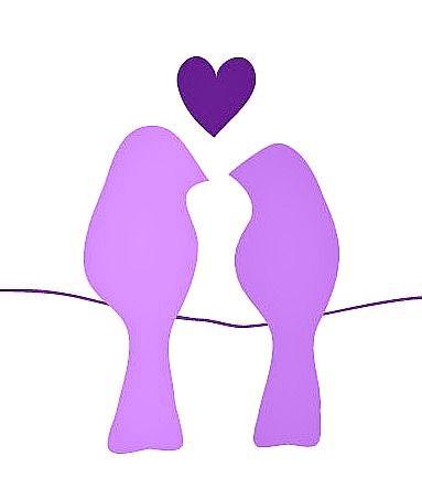 Purple <3 Birds