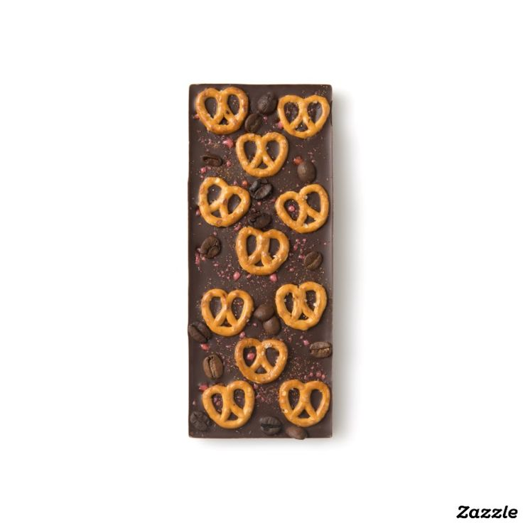 Pretzel, Pop Rocks, Pepper, and Coffee Bean Dark Chocolate Bar