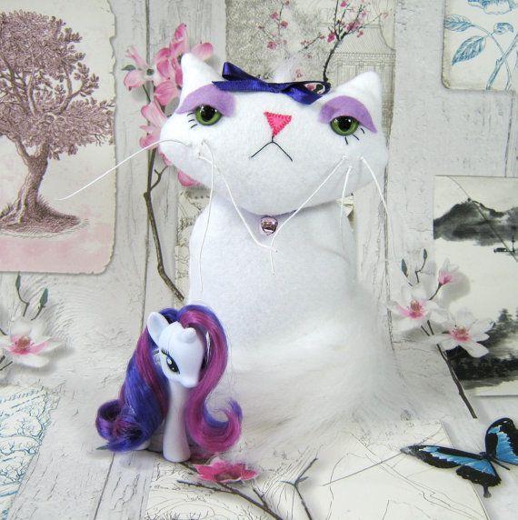 Pony Friend Opalescence  Pet Cat My Little Pony by shadowonthemoon