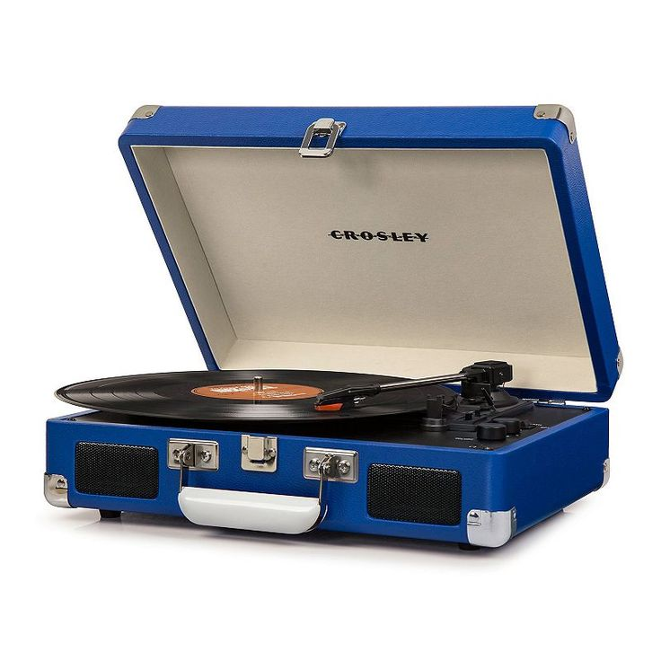 Crosley cruiser deluxe portable bluetooth turntable in