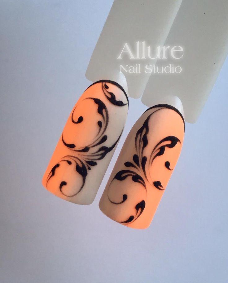 """1,545 отметок «Нравится», 16 комментариев — On the nails with love (@allure_nail_studio) в Instagram: «⚜️❤️""""ВЕНЗЕЛЯ""""❤️⚜️ На курсе изучаем всё: от простых элементов до составления композиций. Если у Вас…»"""