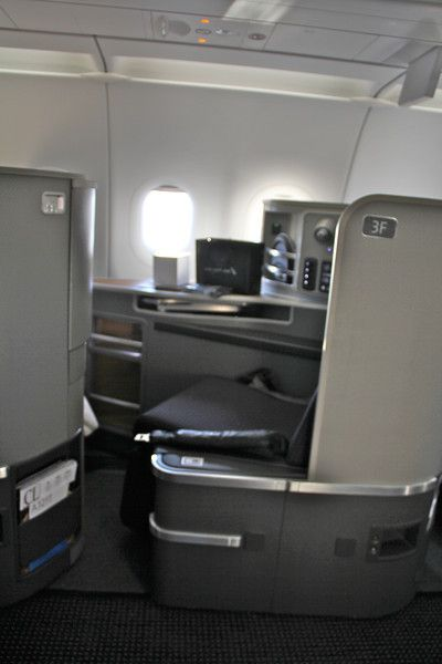 American Airlines Inaugural JFK-LAX A321 Flight in First Class.