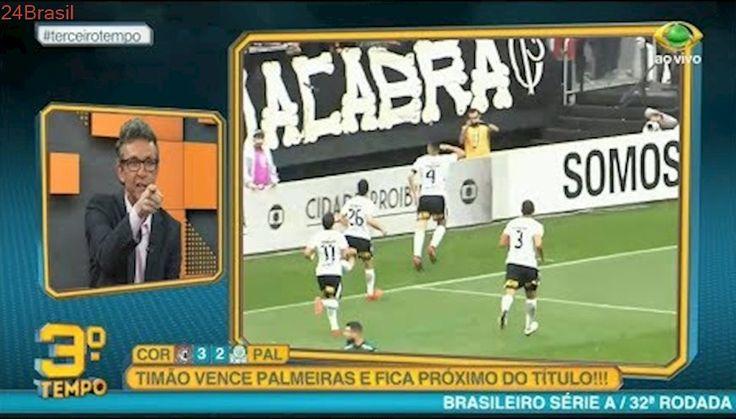 Pós Jogo Terceiro Tempo   Corinthians 3 x 2 Palmeiras   Brasileirão 32ª Rodada   05/11/2017