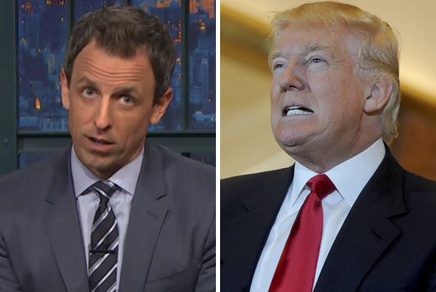 Seth Meyers To Host Live 'Late Night' After Banned Guest Donald Trump Gives Acceptance Speech At GOP Convention