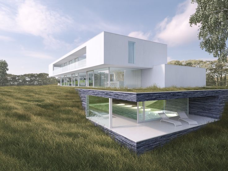 Maison unifamiliale Architecte: Florence Jacquet & Perspectif Image: www.perspectif.be