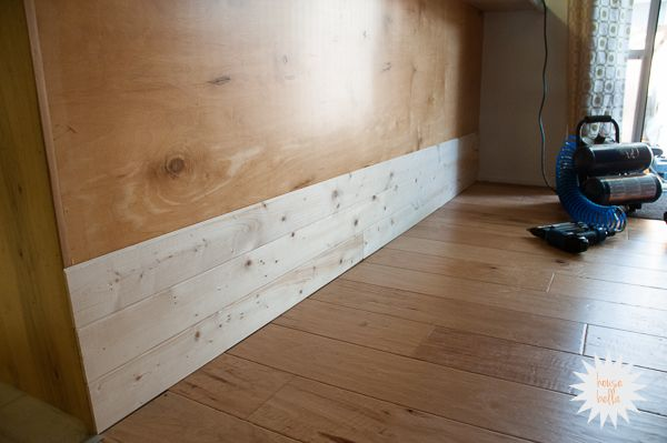 Whitewash Wood Paneling Playhouse Pinterest