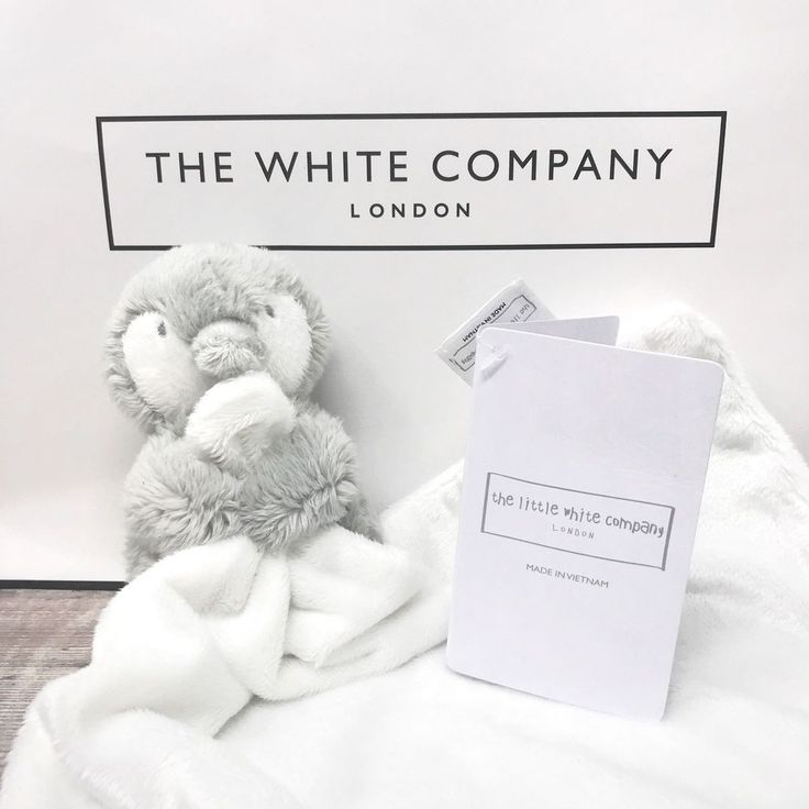 THE LITTLE WHITE COMPANY SNOWY PENGUIN BABY COMFORTER BLANKIE SOOTHER SOFT TOY