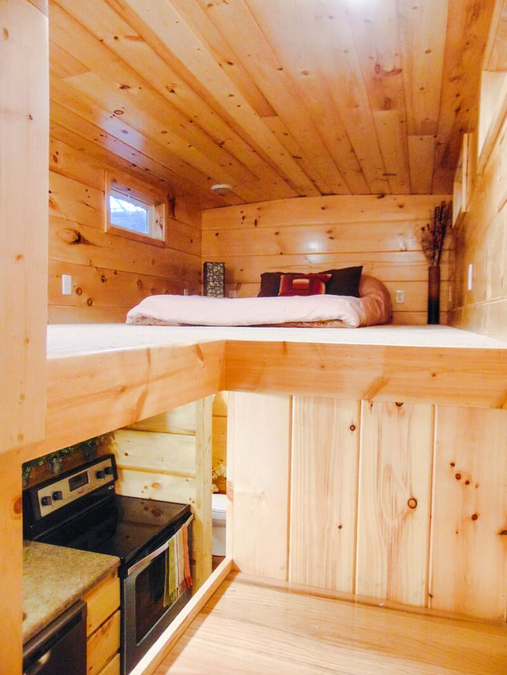 The French Quarter: an 8' x 28' tiny house from Tenessee-based Incredible Tiny Homes.