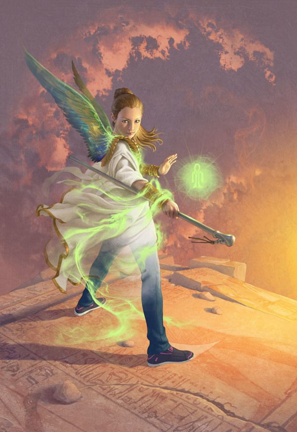 Sadie Kane from the Kane Chronicles Box Set by Antonio Caparo, via Behance
