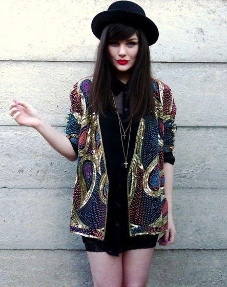 indie - grunge - fashion // love the jacket