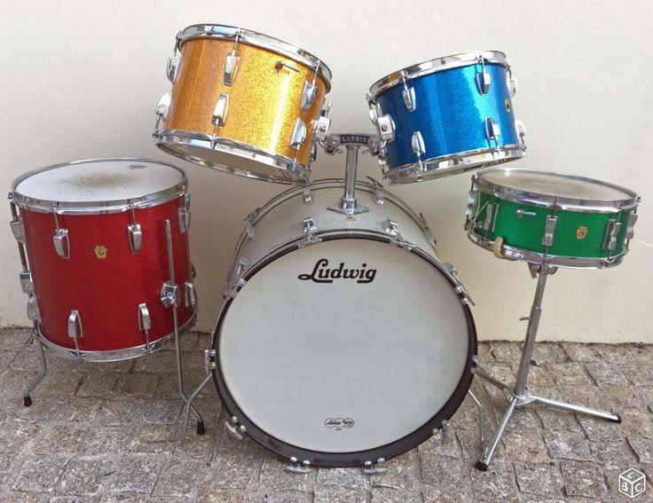 434 best drums images on pinterest drum kits drum sets and vintage drums. Black Bedroom Furniture Sets. Home Design Ideas