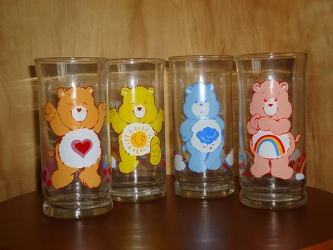 Pizza Hut Care Bears glasses