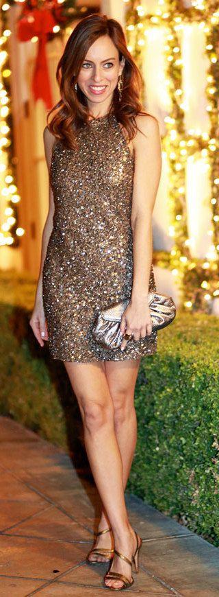 Gold Sparkle Sydne Style