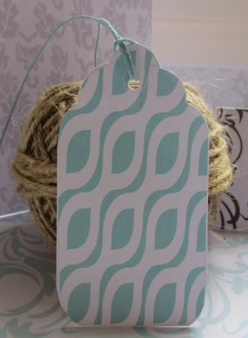 Printable Gift Tags Teal Blue Cheetah available exclusively from http://www.zibbet.com/Printables