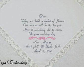 Bestickte Taschentücher Hankerchiefs von NapaEmbroidery auf Etsy