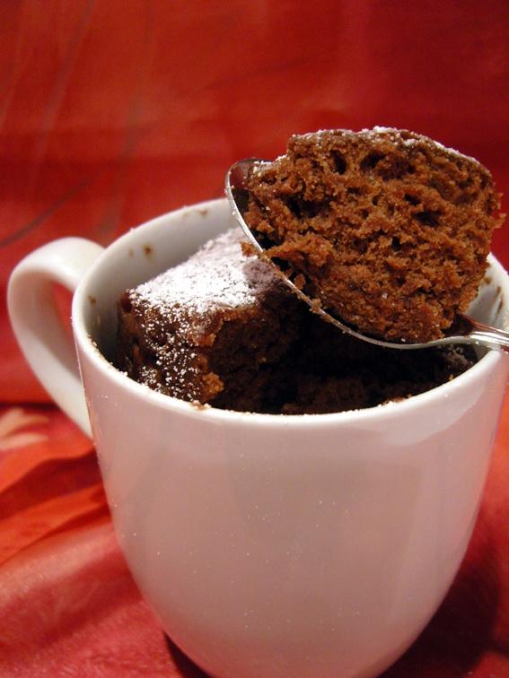 microwellen tassenkuchen kaffee spekulatius kuchen. Black Bedroom Furniture Sets. Home Design Ideas