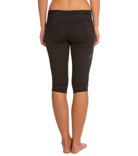 The North Face Women's Better than Naked Running Capri at SwimOutlet.com - The Web's most popular swim shop