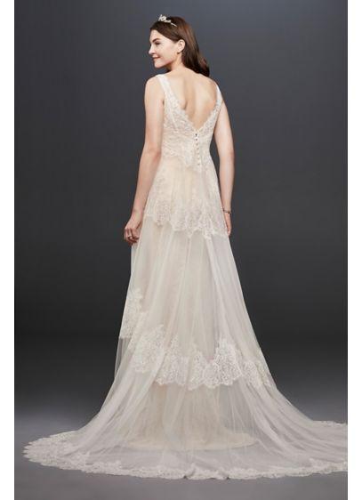 b83a7f0e4 Long A-Line Beach Wedding Dress - Melissa Sweet | Wedding Inspo ...