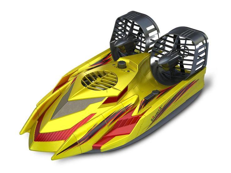 Silverlit R/C Vznášedlo (obojživelník) R/C Vznášedlo obojživelník na dálkové ovládání jezdí po zemi i po vodě!
