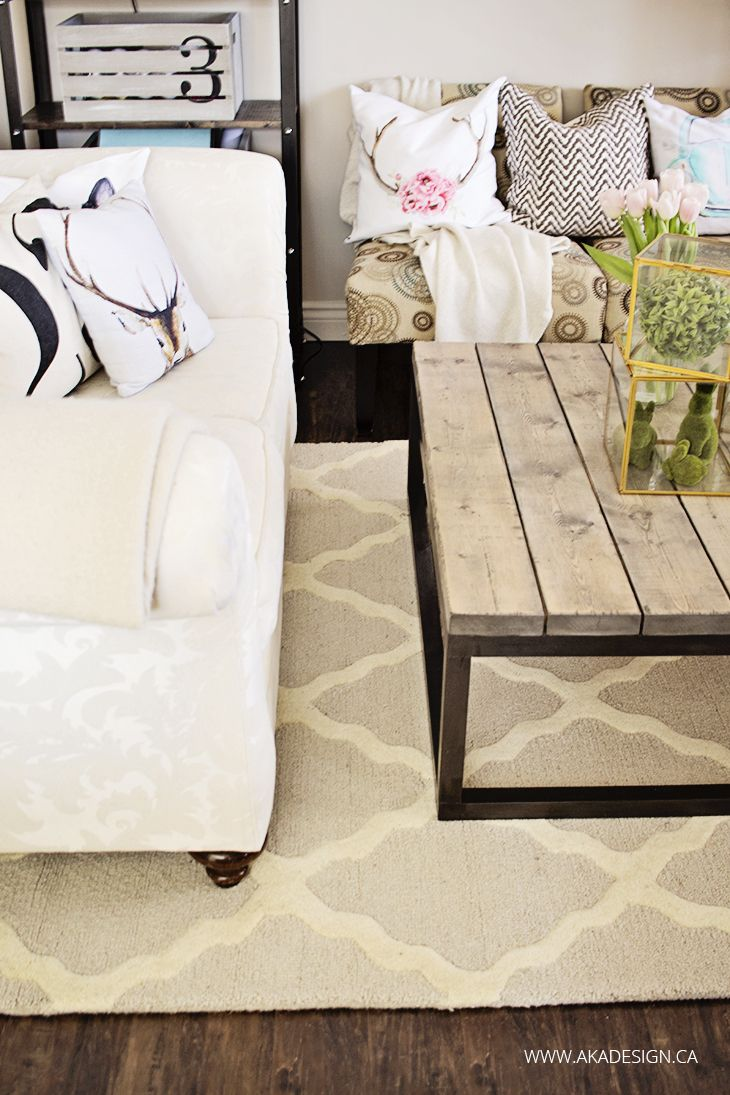 The New Moroccan Trellis Rug In The Living Room Carpets